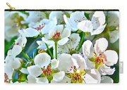 Pretty In White Carry-all Pouch