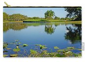 Tranquil Lake In Florida Carry-all Pouch