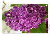 Pretty Lilac Bush Carry-all Pouch