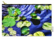 Pretty Lily Pads Carry-all Pouch