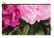 Pretty Pink Peonies In Ball Jar Vase Carry-all Pouch