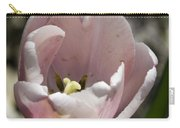 Pretty Pink Tulip Squared Carry-all Pouch