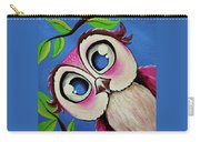 Pretty Pinky Owl Carry-all Pouch