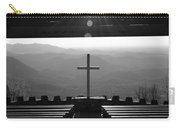 Pretty Place Aka Fred W. Symmes Chapel Black And White Carry-all Pouch