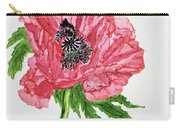 Pretty Poppy Carry-all Pouch
