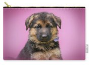 Pretty Puppy In Pink Carry-all Pouch
