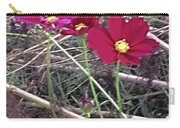 Pretty Red And Yellow Flowers In The Twigs Carry-all Pouch