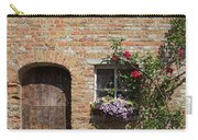 Pretty Terrace Beside The Groenerei Canal In Bruges Belgium Carry-all Pouch