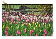 Pretty Tulips Garden Carry-all Pouch