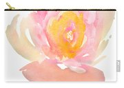 Pretty Watercolor Flower Carry-all Pouch