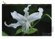 Pretty White Stargazer Lily Flower Blossom Carry-all Pouch