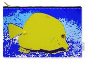 Pretty Yellow Fish Carry-all Pouch