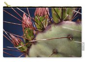 Prickly Buds Carry-all Pouch