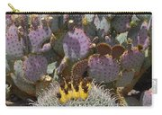 Prickly Pear Blooms Carry-all Pouch