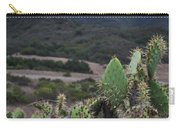 Prickly Pear Cacti Rancho Sierra Vista Satwiwa Mountains Carry-all Pouch