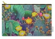 Prickly Pear Cactus 2 Carry-all Pouch