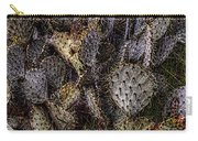 Prickly Pear Cactus At Tonto National Monument Carry-all Pouch