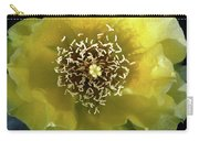 Prickly Pear Cactus Flower Carry-all Pouch