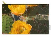 Prickly Pear Cactus Flowers Carry-all Pouch