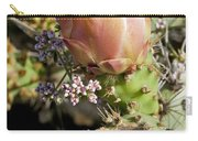 Prickly Pear Flower 4 Carry-all Pouch