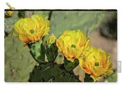 Prickly Pear Flowers H42 Carry-all Pouch