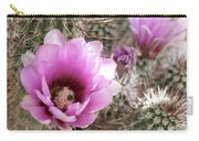 Prickly Petals Carry-all Pouch