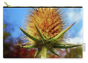 Prickly Thistle Carry-all Pouch