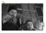 Priest And A Young Girl  Carry-all Pouch