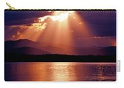 Priest Lake Sunset Heavenly Light Carry-all Pouch