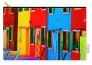 Primary Colors Of Burano Carry-all Pouch