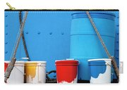 Primary Colors - Paint Buckets On A Ship Carry-all Pouch