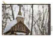 Primitive Church In The Mountains Carry-all Pouch