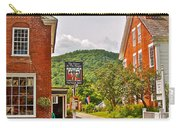 Prince And The Pauper Restaurant In Woodstock-vermont  Carry-all Pouch