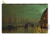 Prince's Dock Hull Carry-all Pouch by John Atkinson Grimshaw