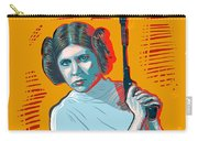 Princess Leia Carry-all Pouch by Antonio Romero