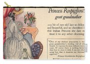 Princess Rospigliosi Ephemera Vintage Carry-all Pouch