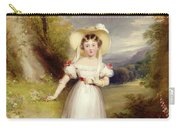 Princess Victoria Aged Nine Carry-all Pouch by Stephen Catterson the Elder Smith