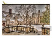 Snow / Winter Princeton University Carry-all Pouch