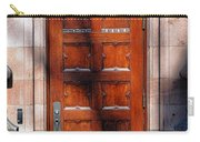 Princeton University Wood Door  Carry-all Pouch