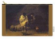 Prison Scene Francisco Jose De Goya Y Lucientes Carry-all Pouch