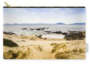Pristine Beach Background Carry-all Pouch