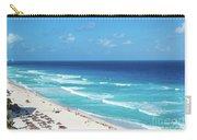 Pristine Beach In Cancun Carry-all Pouch
