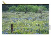 Private Property -wildflowers Of Texas. Carry-all Pouch