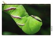Privet Hawk Moth Caterpillar Carry-all Pouch