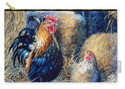 Prized Rooster Carry-all Pouch by Hanne Lore Koehler