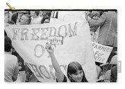 Pro-choice Rally, 1976 Carry-all Pouch