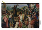 Procession Of Crusaders Around Jerusalem Carry-all Pouch