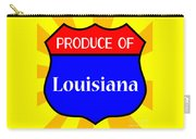 Produce Of Louisiana Shield Carry-all Pouch