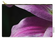 Profile In Pink Carry-all Pouch