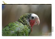 Profile Of A Conure Parrot Up Close Carry-all Pouch